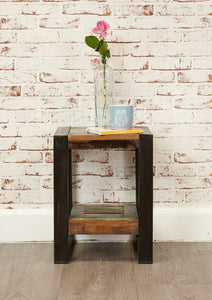 city vibe low plant stand lamp table