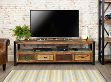 Load image into Gallery viewer, city vibe open widescreen television cabinet