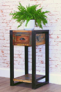 city vibe plant stand lamp table