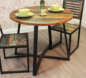 city vibe round dining table 100cm