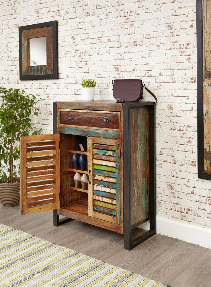 City Vibe Shoe Storage Cupboard (with drawer)