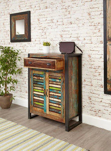 city vibe shoe storage cupboard with drawer
