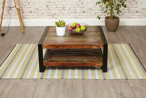 city vibe square coffee table