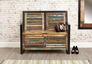 City Vibe Storage Monks Bench (with shoe storage)