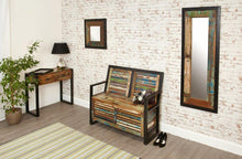Load image into Gallery viewer, city vibe storage monks bench with shoe storage