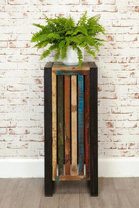 City Vibe Tall Plant Stand/Lamp Table