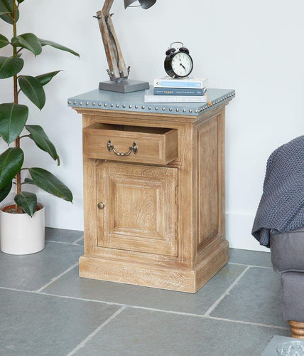 Cool Factory Lamp Table / Bedside Table