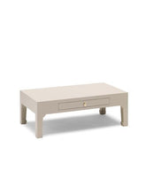 Load image into Gallery viewer, Dynasty Oyster Grey Coffee Table with Drawer