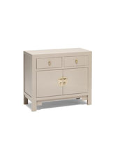 Load image into Gallery viewer, Dynasty Oyster Grey Medium Sideboard