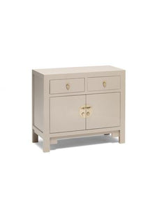 Dynasty Oyster Grey Medium Sideboard