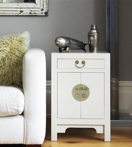 dynasty oyster grey small cabinet