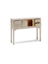 Load image into Gallery viewer, dynasty oyster grey small console table
