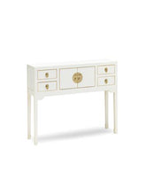 Load image into Gallery viewer, Dynasty White Console Table