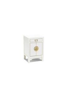 Dynasty White Small Cabinet