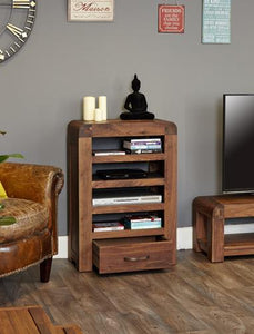 jupiter walnut entertainment unit