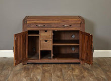 Load image into Gallery viewer, jupiter walnut hidden home office
