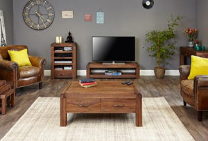 jupiter walnut low tv cabinet