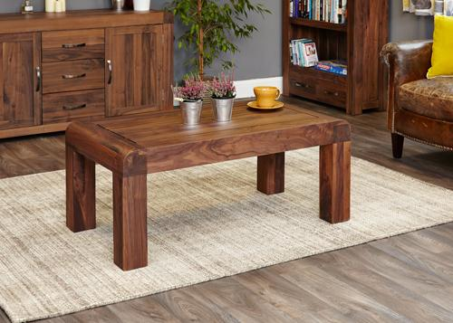 Jupiter Walnut Medium Open Coffee Table