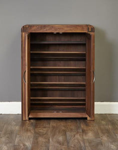 jupiter walnut shoe cupboard