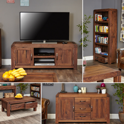 Jupiter Walnut Living Room Package