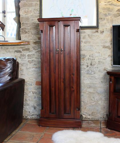 Majestic Mahogany CD/DVD Cupboard