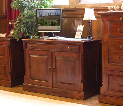 Majestic Mahogany Hidden Home Office