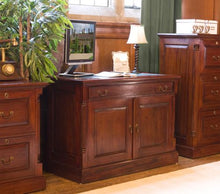 Load image into Gallery viewer, majestic mahogany hidden home office