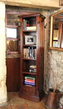 Load image into Gallery viewer, majestic mahogany narrow alcove bookcase