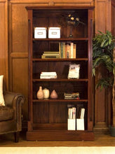 Load image into Gallery viewer, majestic mahogany tall open bookcase