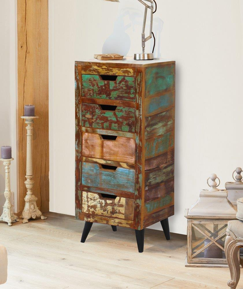 Ocean 5 Drawer Tallboy