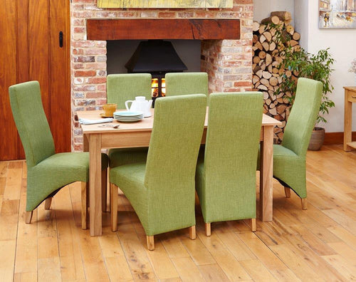 Robin Oak 150cm Dining Table (4/6 Seater)