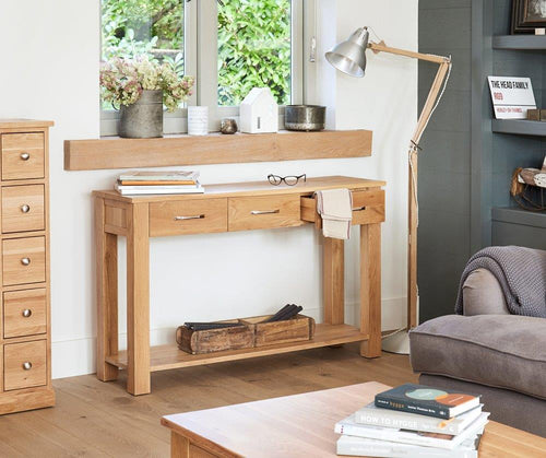 Robin Oak Console Table