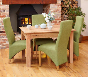 robin oak dining table 4 seater