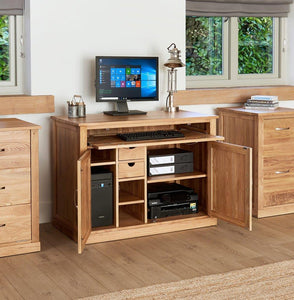 Robin Oak Hidden Home Office
