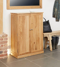 Load image into Gallery viewer, robin oak large shoe cupboard