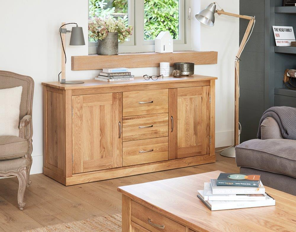 Robin Oak Large Sideboard