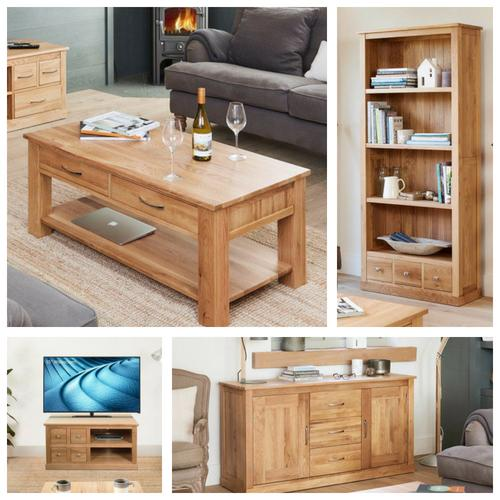 Robin Oak Package 1 - (Living Room)