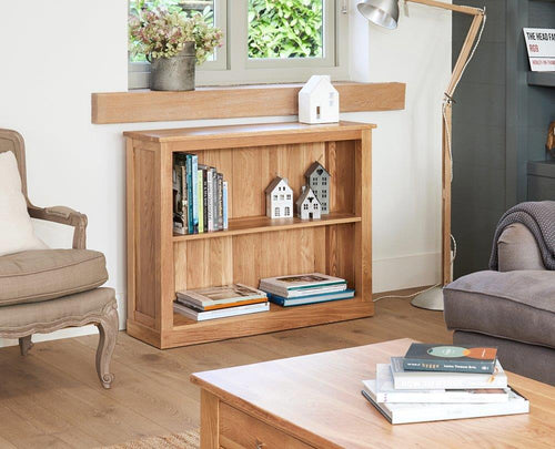 Robin Oak Low Bookcase