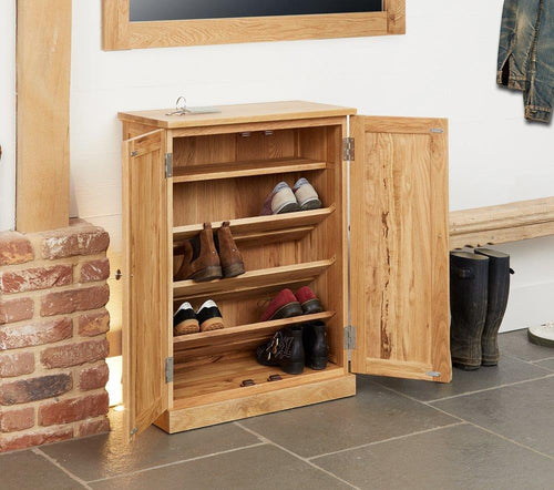 Robin Oak Shoe Cupboard