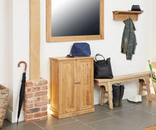 Load image into Gallery viewer, robin oak shoe cupboard