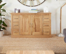 Load image into Gallery viewer, robin oak six drawer sideboard