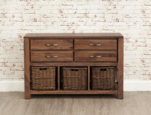 Load image into Gallery viewer, royal walnut console table