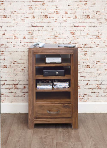 Royal Walnut Entertainment Ancillaries Storage Unit