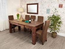 Load image into Gallery viewer, Royal Walnut Extending Dining Table