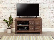 Load image into Gallery viewer, Royal Walnut Four Drawer Television Cabinet