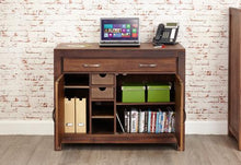 Load image into Gallery viewer, royal walnut hidden home office