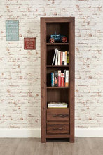 Load image into Gallery viewer, royal walnut narrow bookcase