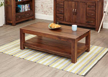 Load image into Gallery viewer, royal walnut open coffee table