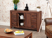 Load image into Gallery viewer, royal walnut six drawer sideboard