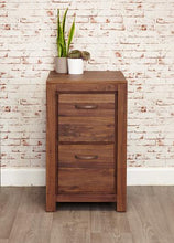 Load image into Gallery viewer, royal walnut two drawer filing cabinet